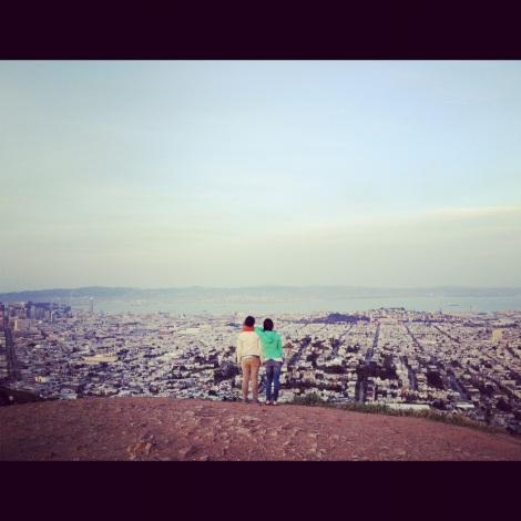 Twin Peaks in SF, CA