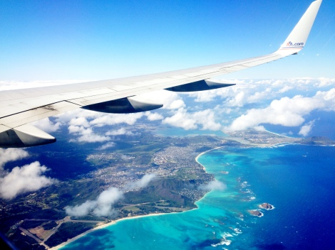 Flying with AA into Honolulu's Airport