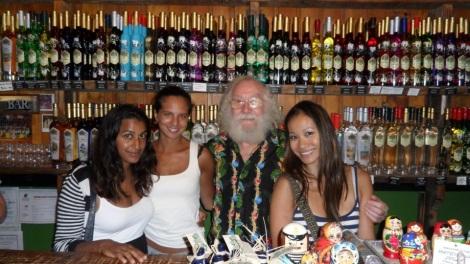 Karolina, Jasmine, Michael, and I