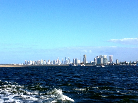 View of Surfer's Paradise