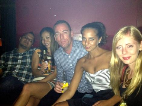 Nick, Shane, Jasmin, and Andrea