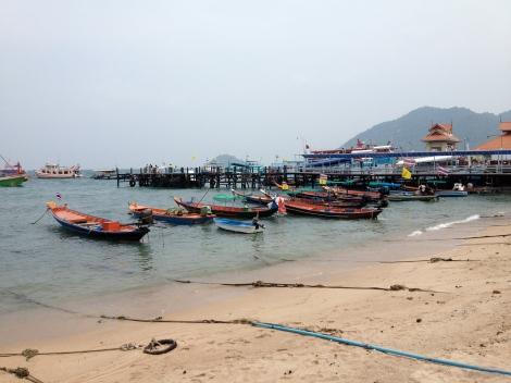Pier of Koh Tao