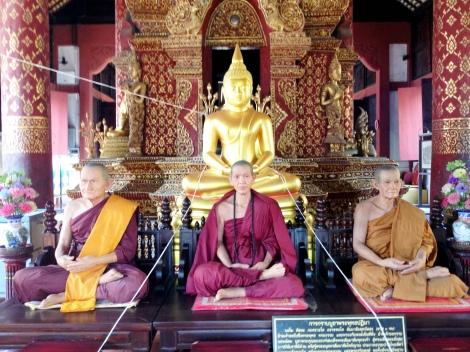 Waxed Buddhas