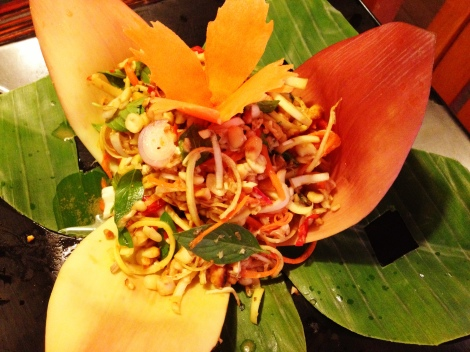 Banana Flower Salad