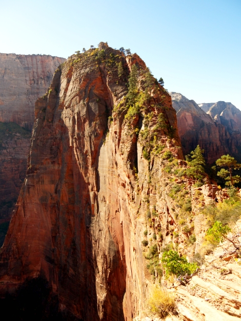 Ascend to Angels Landing