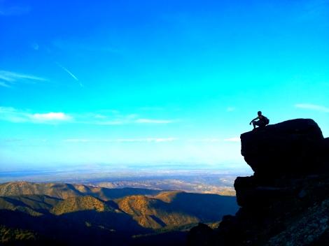 Overlooking San Bernardino County